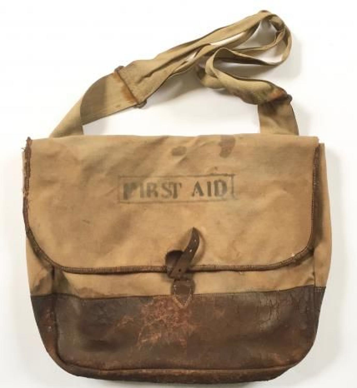 WW1 Period British Army Officer's Side Bag.