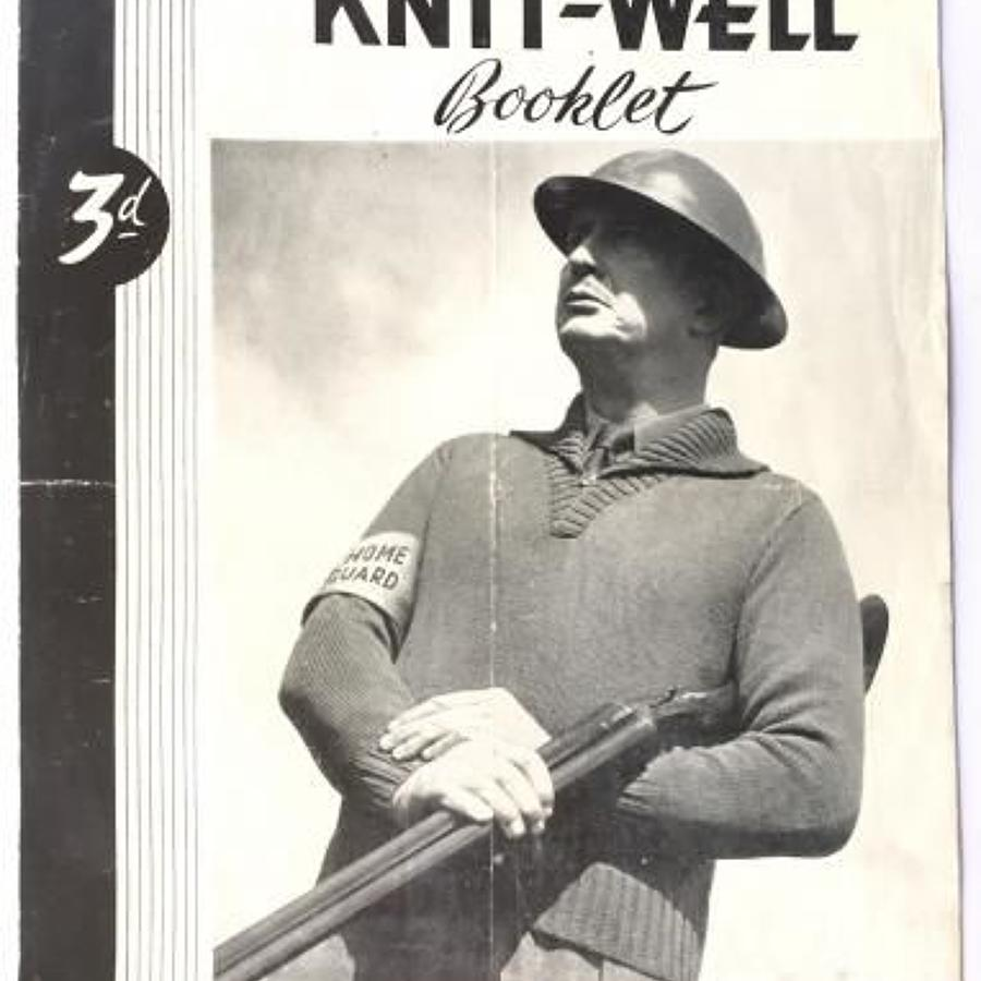 WW2 Home Front Home Guard Pullover Knitting Pattern.