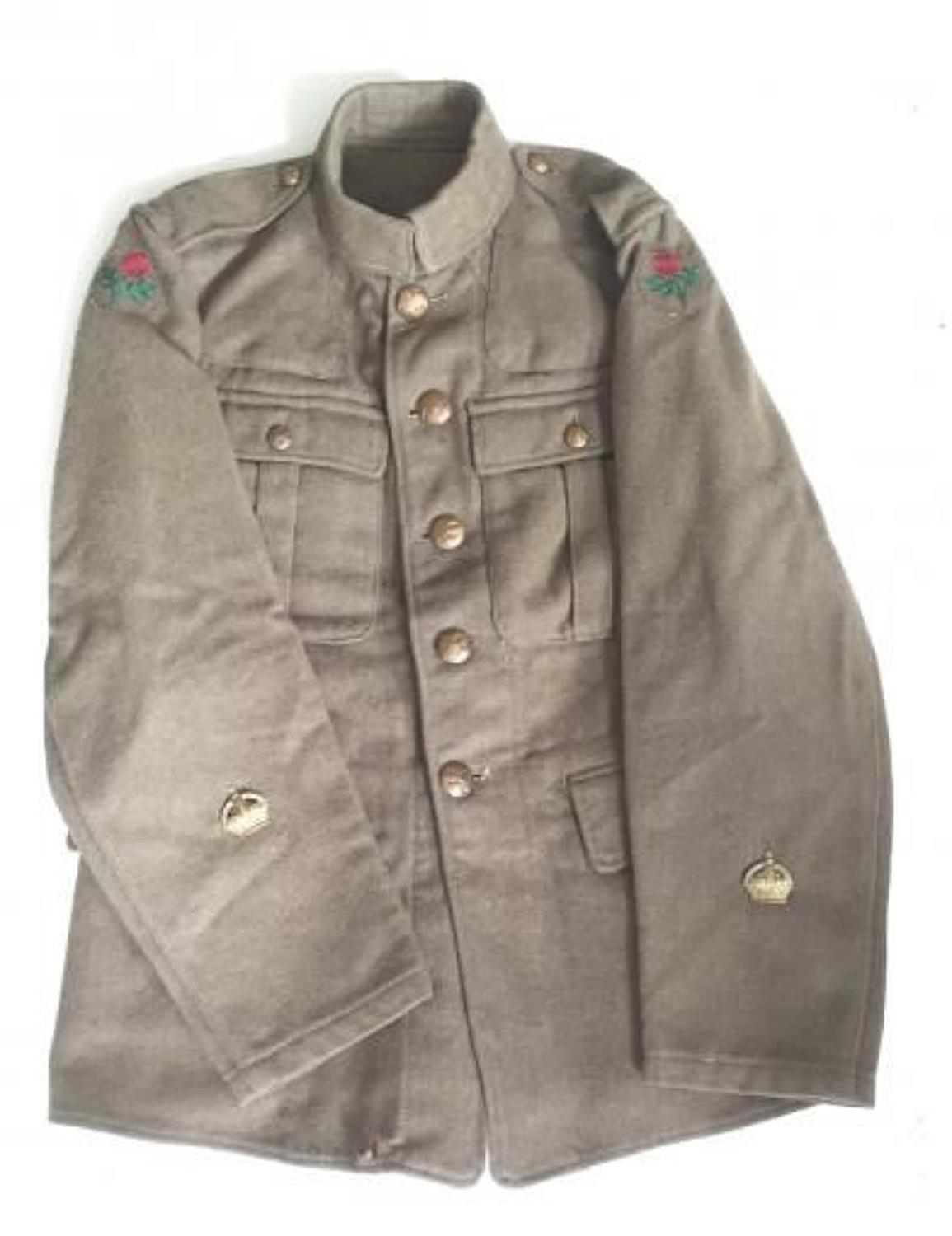 WW1 55th (West Lancashire) Division 1902 Other Ranks Trench Tunic.