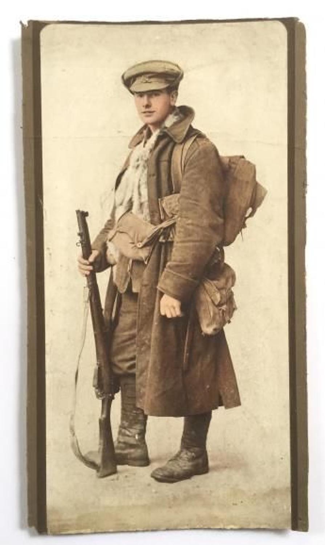WW1 British Tommy Circa 1915 Photograph Print.