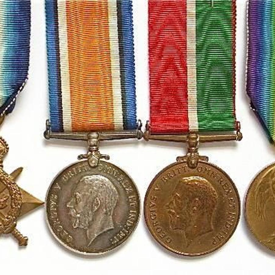 Expeditionary Forces Canteen Royal Marine Artillery Mercantile Medals