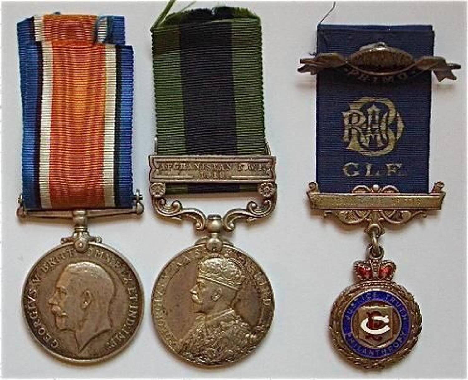 WW1 2nd Bn Somerset Light Infantry Group of Medals.