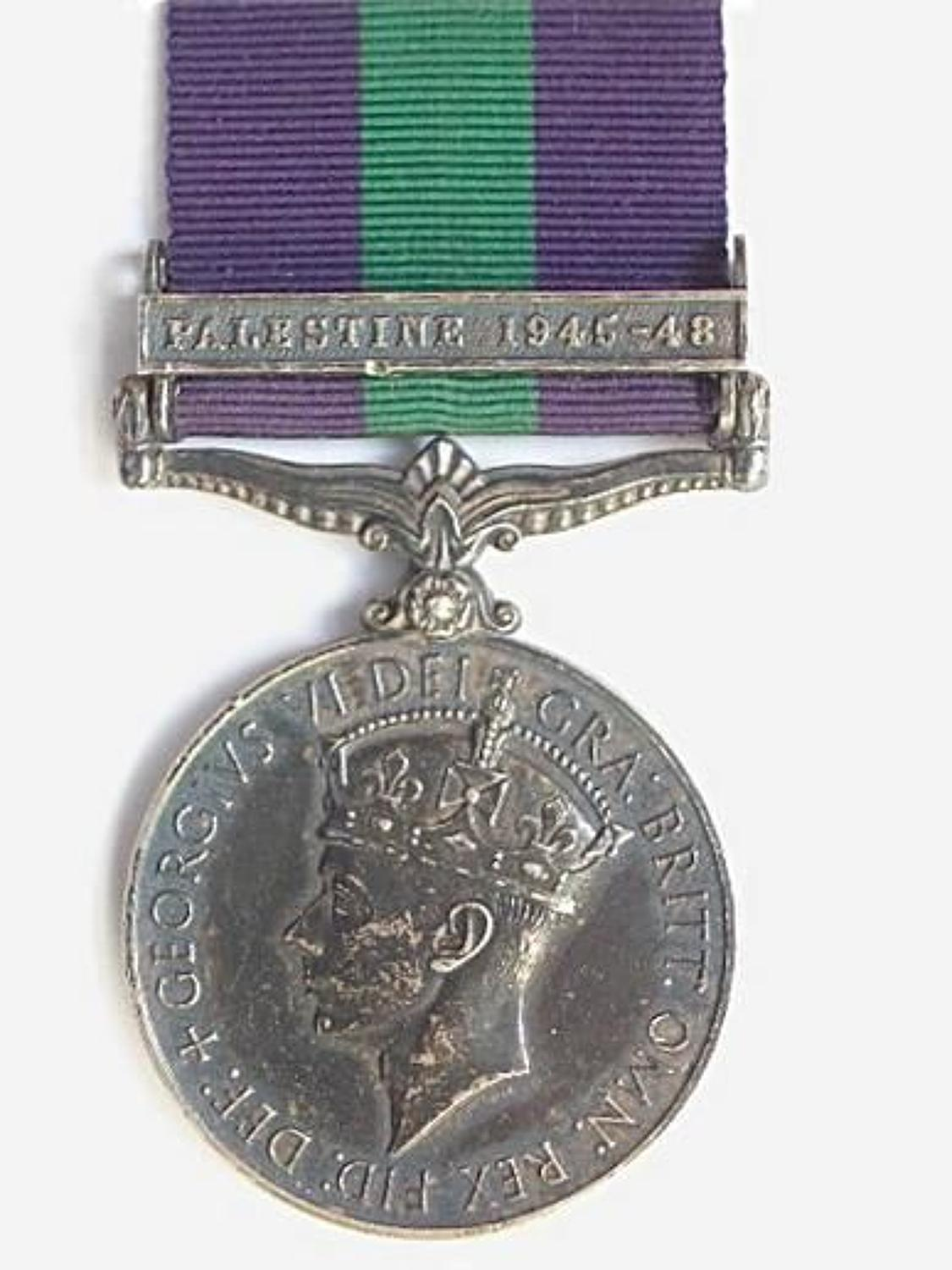 Royal Air Force General Service Medal Clasp