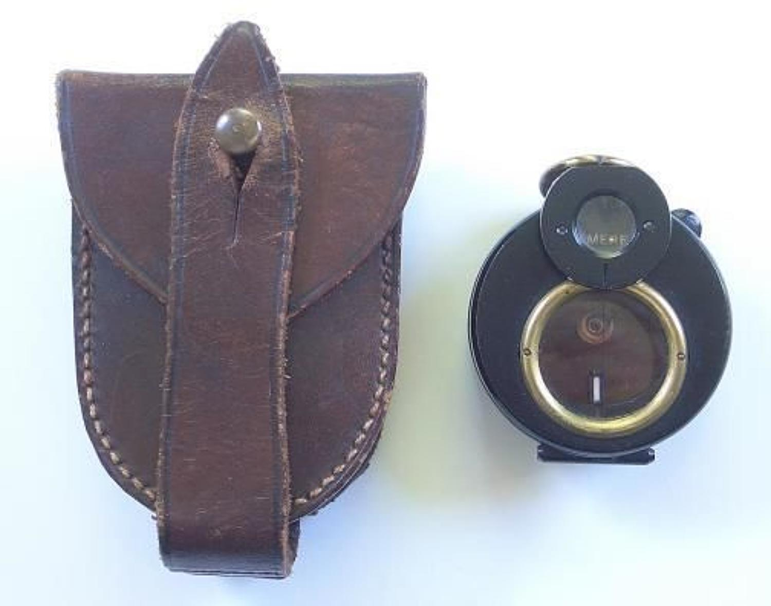 WW1 Liverpool Regiment Officers Attributed Marching Compass.