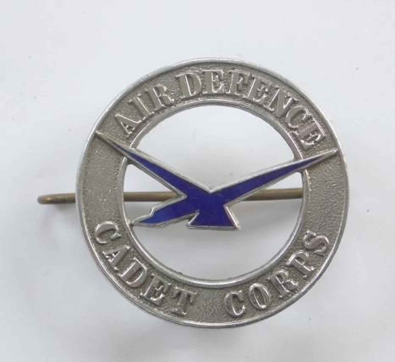 Air Defence Cadet Corps Cap Badge circa 1938-41.