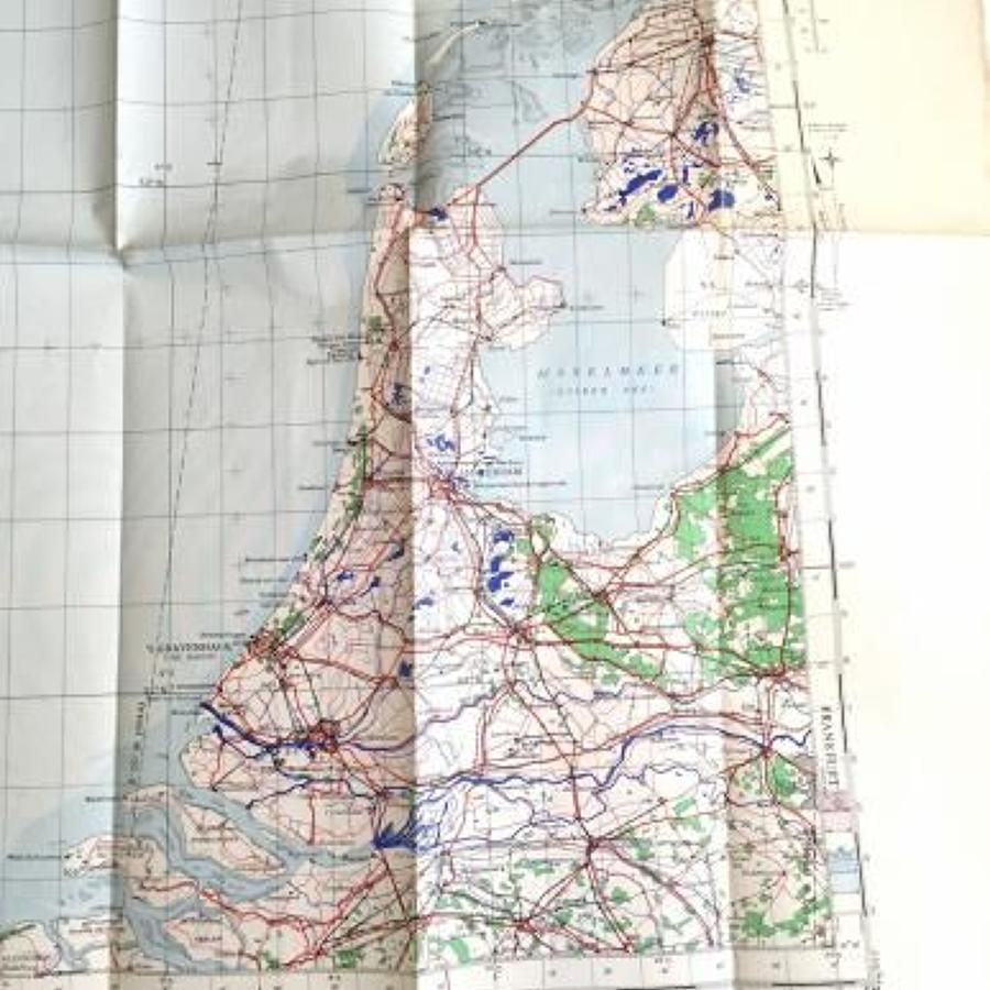 WW2 1944 RAF Flying Map