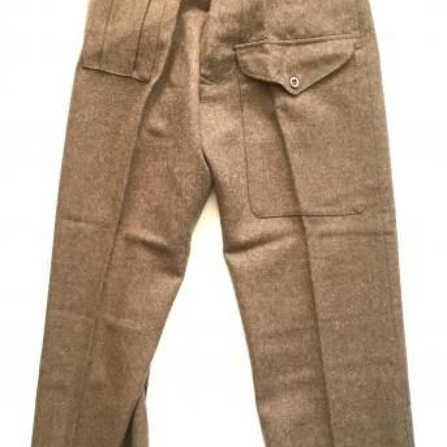 WW2 1940 Pattern Battledress Trousers.