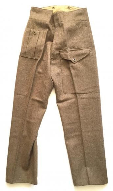 WW2 1940 Pattern Battledress Trousers.