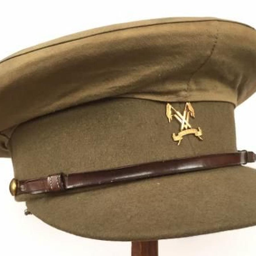 WW1 Patten Attributed 15th Lancers Indian Army Officer's Cap.