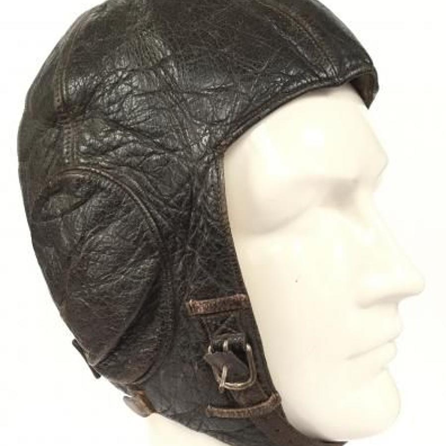 WW2 Pattern Luftwaffe German Flying Helmet.