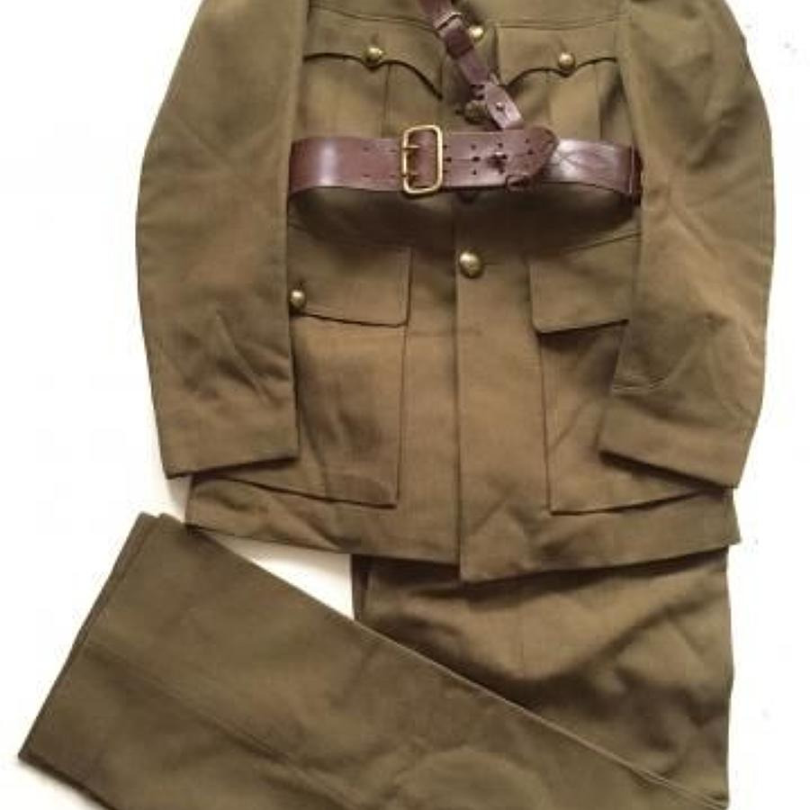 WW2 Period Reconnaissance Corps Officer's Servicedress Uniform.