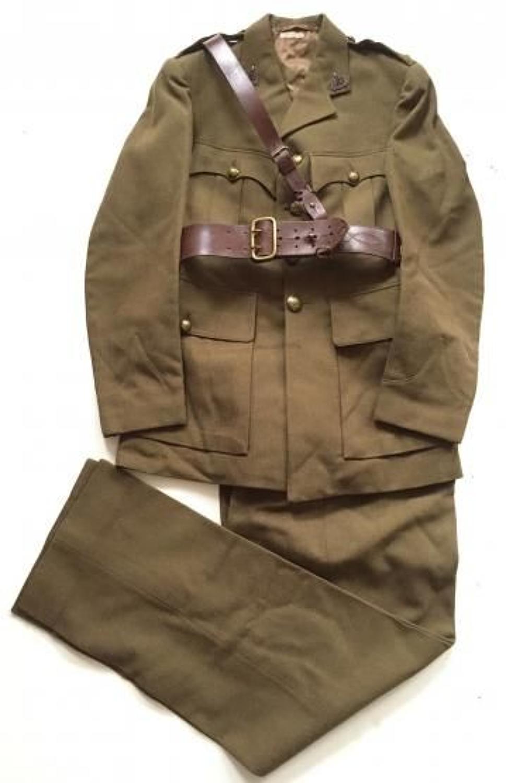 WW2 Period Reconnaissance Corps Officer's Servicedress Uniform.