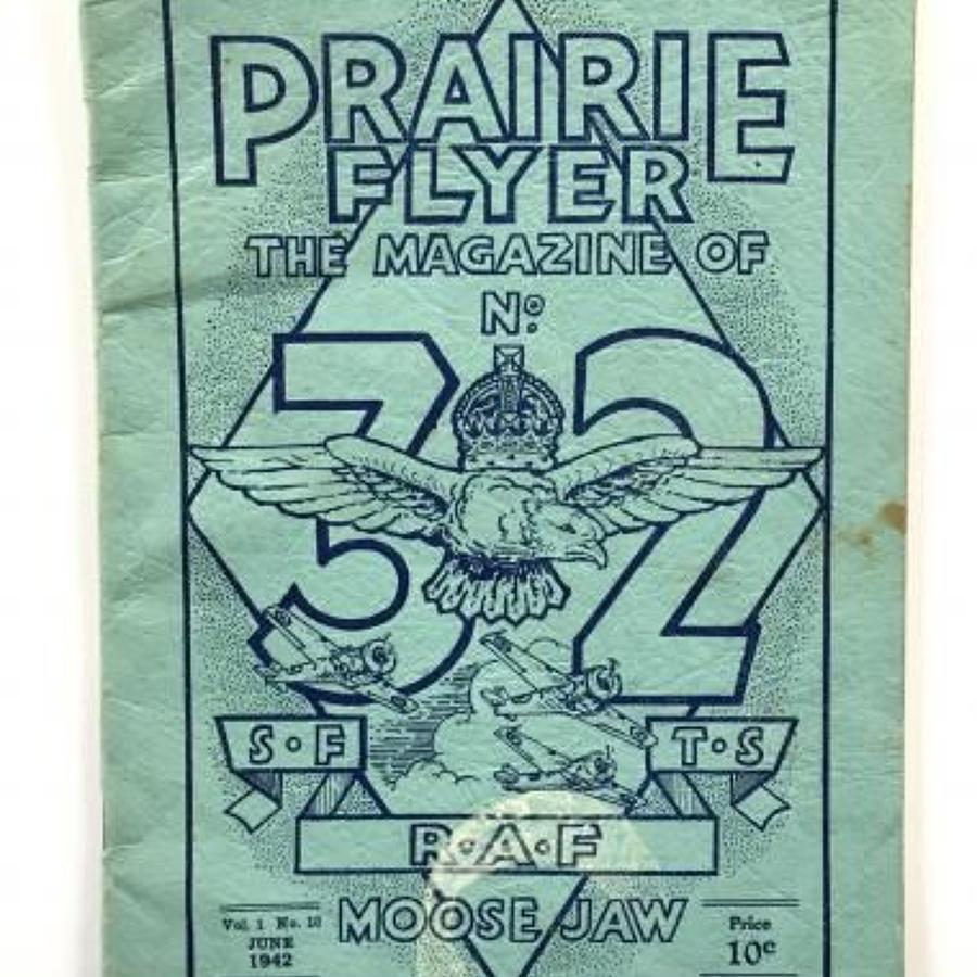 WW2 RAF Moose Jaw Canada Station Magazine.