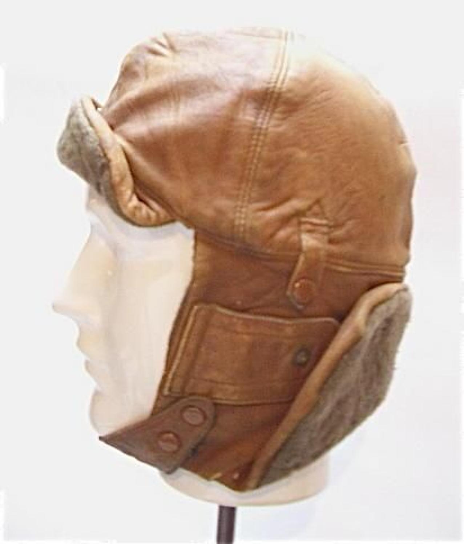 WW1 Period Royal Flying Corps RFC Flying Helmet.