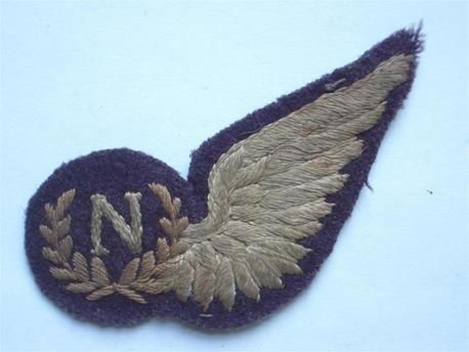 WW2 RAF Unusual Shape Navigators Brevet.