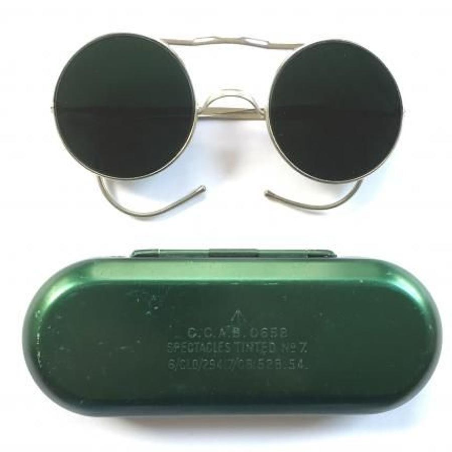 RAF Cold War Period Aircrew issue Sun Glasses.