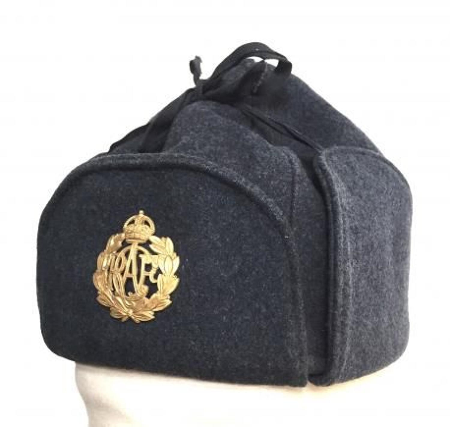 WW2 Period RCAF Royal Canadian Air Force Cold Weather Hat.