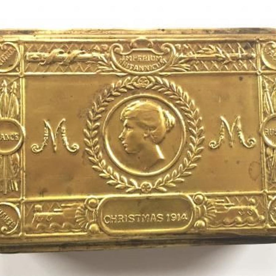 WW1 1914 Princess Mary Christmas Gift Tin.