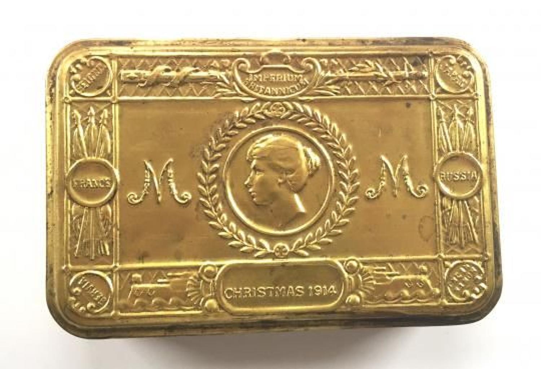 WW1 1914 Princess Mary Christmas Gift Tin.