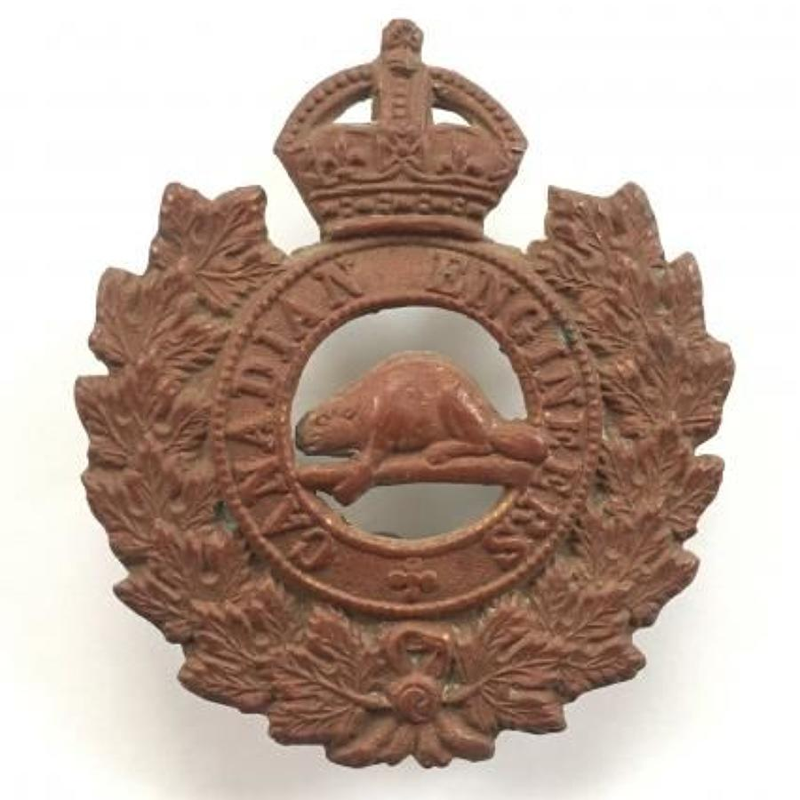 WW1 Canadian Engineers Cap Badge.