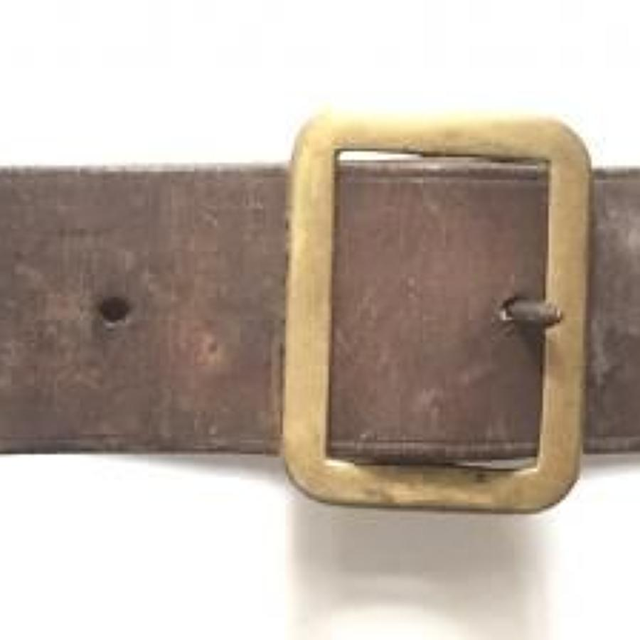 WW1 1903 Cavalry Pattern Waist Belt 1914 dated
