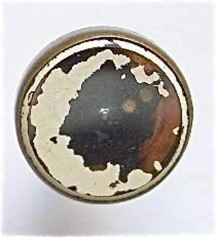Rare WW2 RAF ORIGINAL Escape Collar Stud Compass