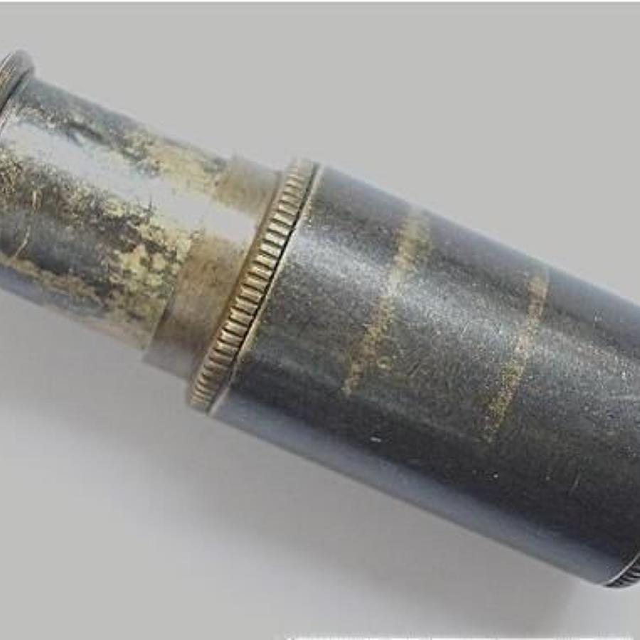 WW2 ORIGINAL RAF Escape /  SOE miniature brass telescope.
