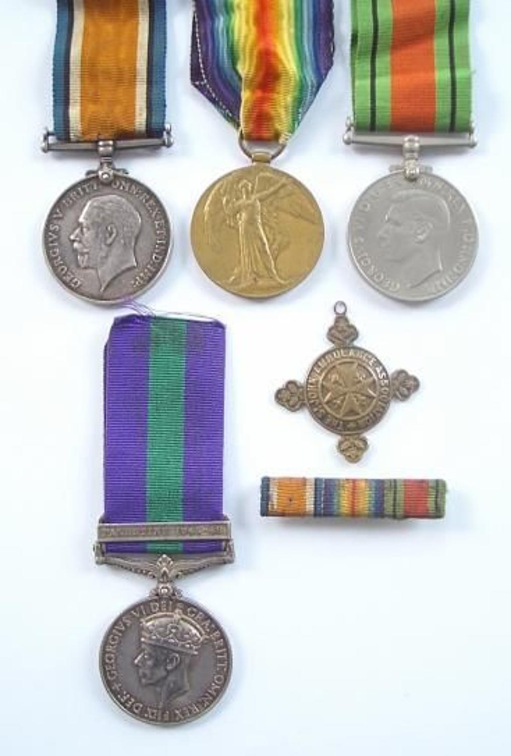 Royal Artillery / REME Family Group of Medals.