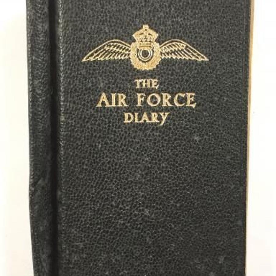 WW2 RAF 1943 Diary.