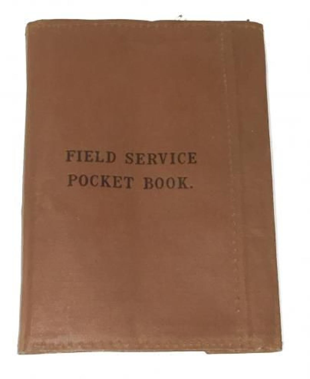 WW2 Period British Army Field Service Pocket Book Cover.