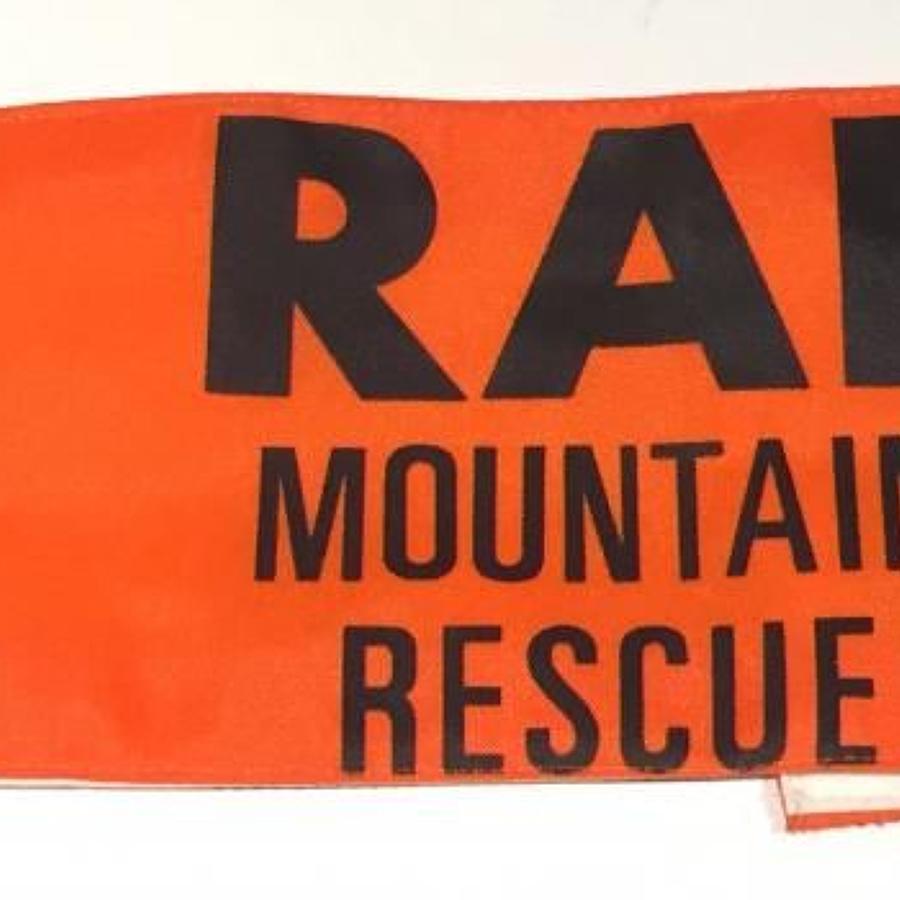 RAF Mountain Rescue Armband.