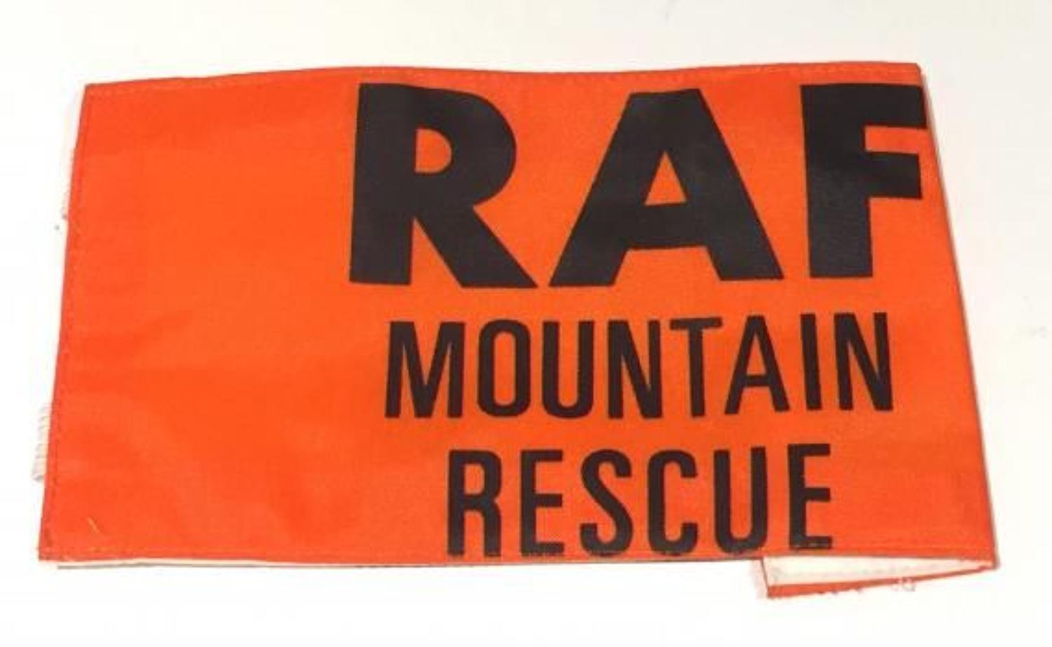 RAF Mountain Rescue Armband.