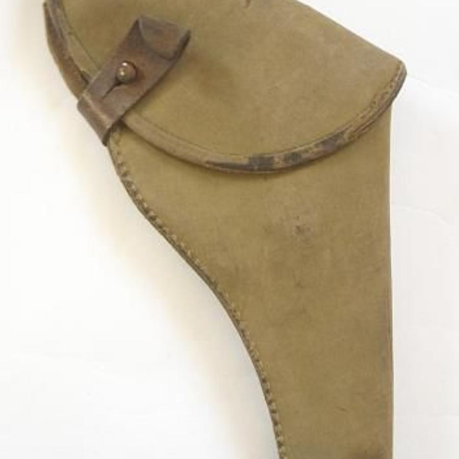 WW1 British Officer's Trench Fighting Revolver Holster.