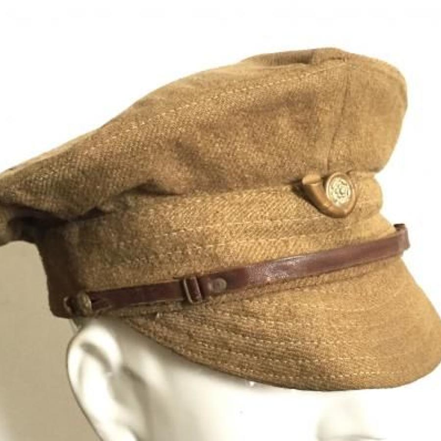 WW1 KOYLI 1917 Pattern Trench Cap.