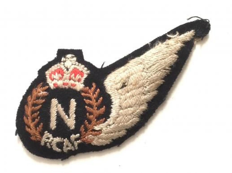 WW2 Royal Canadian Air Force RCAF Navigator (N) brevet.