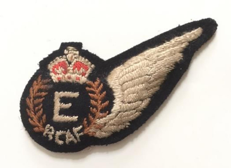 WW2 Royal Canadian Air Force RCAF Engineer (E) brevet.