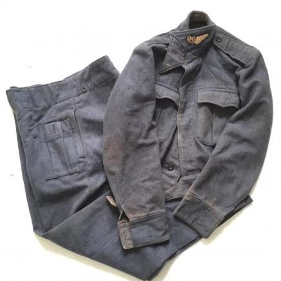 WW2 RAF 1945 Navigators War Service Battle Dress Uniform.
