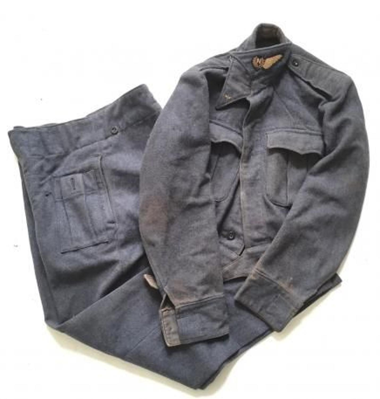 WW2 RAF 1945 Navigators War Service Battle Dress Uniform.
