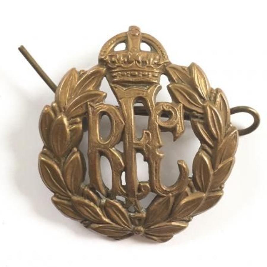 WW1 Royal Flying Corps RFC Cap Badge.