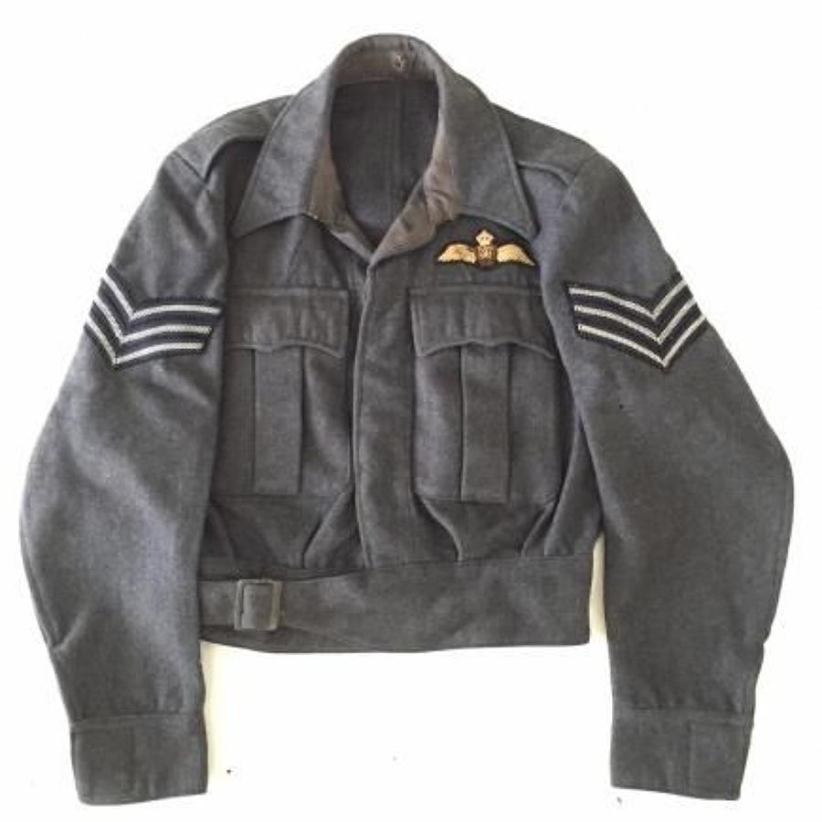 RAF WW2 1943 Suits Aircrew Pilot's Battledress Blouse Tunic.