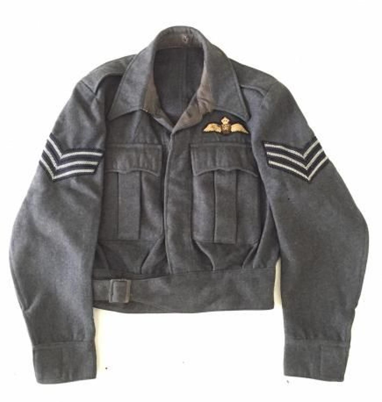 RAF WW2 1943 Suits Aircrew Pilot's Battledress Blouse Tunic.