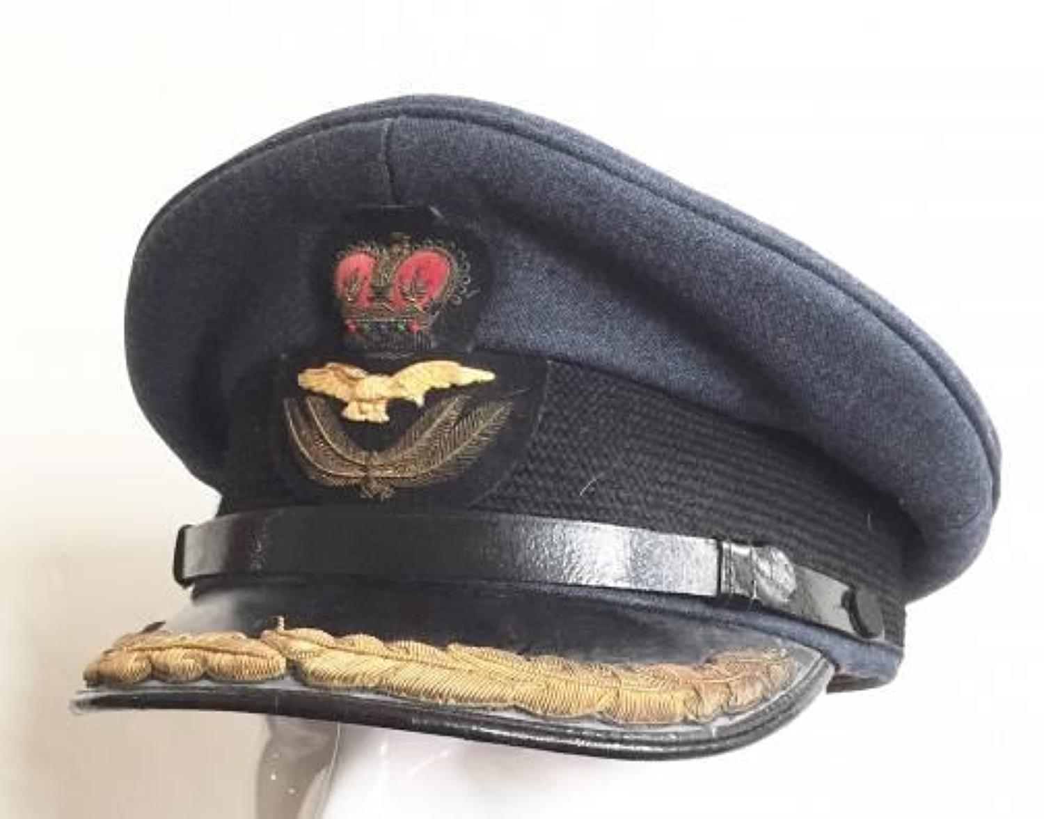 RAF Cold War Period Group Captain's Cap.