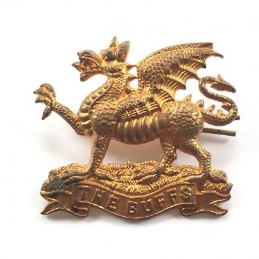 Victorian / Edwardian East Kent The Buffs Cap Badge