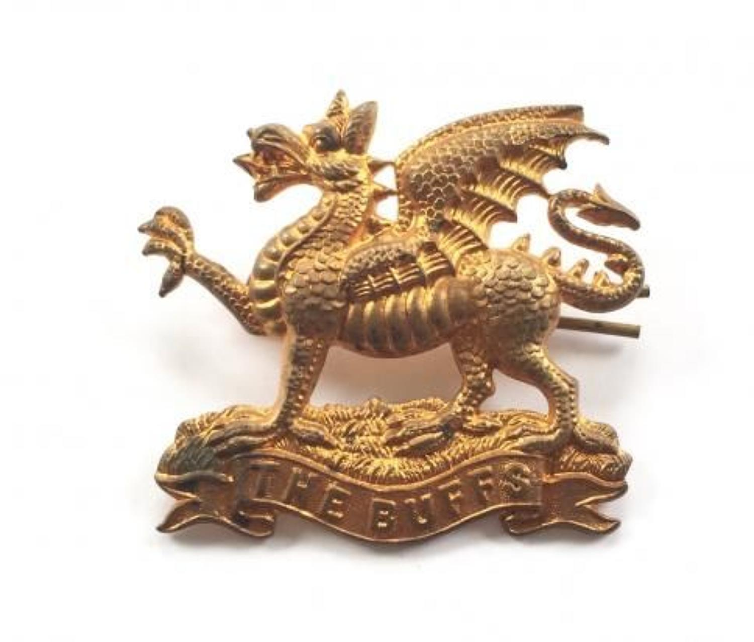 Victorian / Edwardian East Kent The Buffs Cap Badge