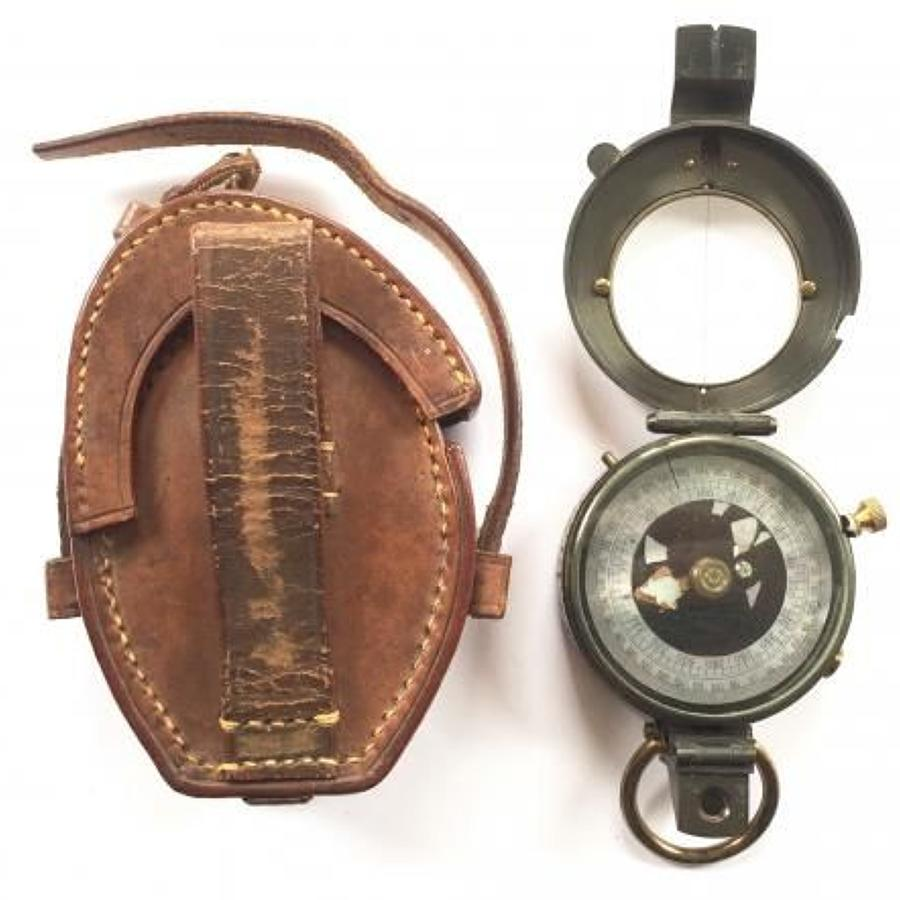 WW1 Pattern British Army Officer's marching compass.