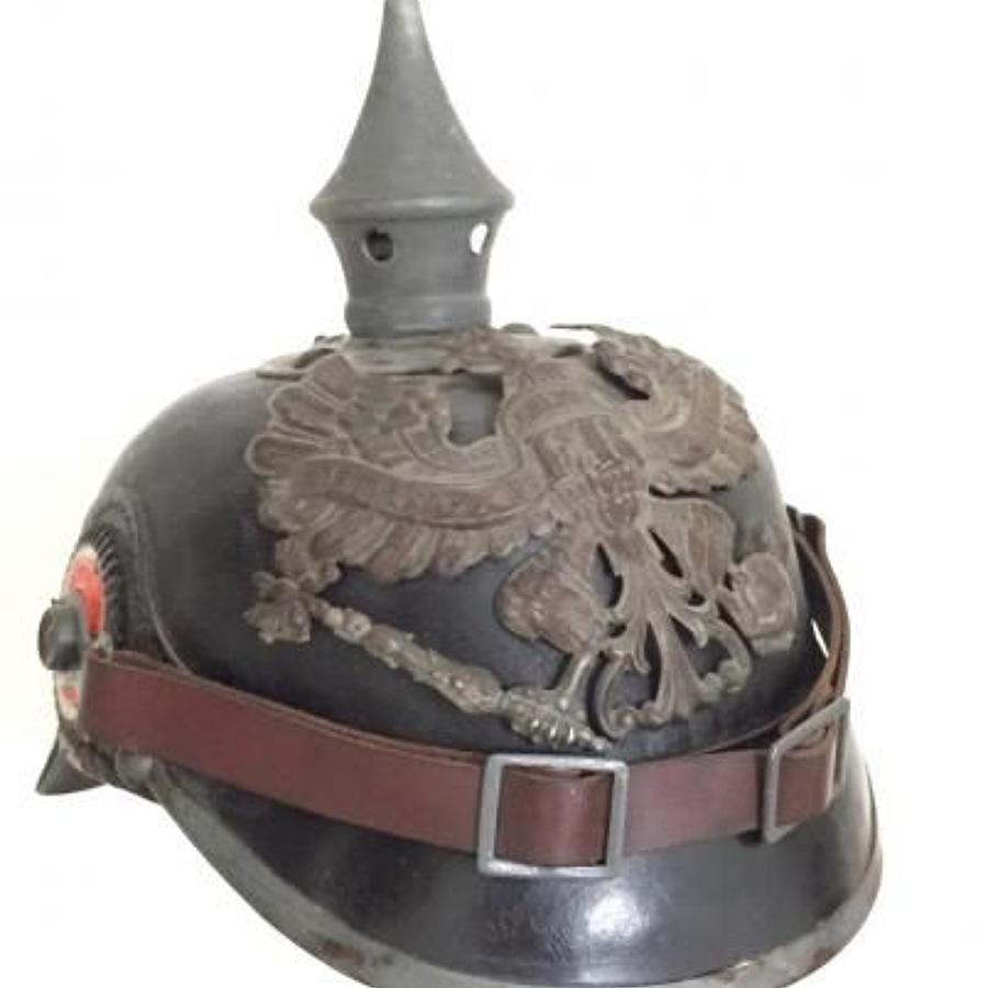 WW1 Imperial German Prussian Other Rank's Pickelhaube