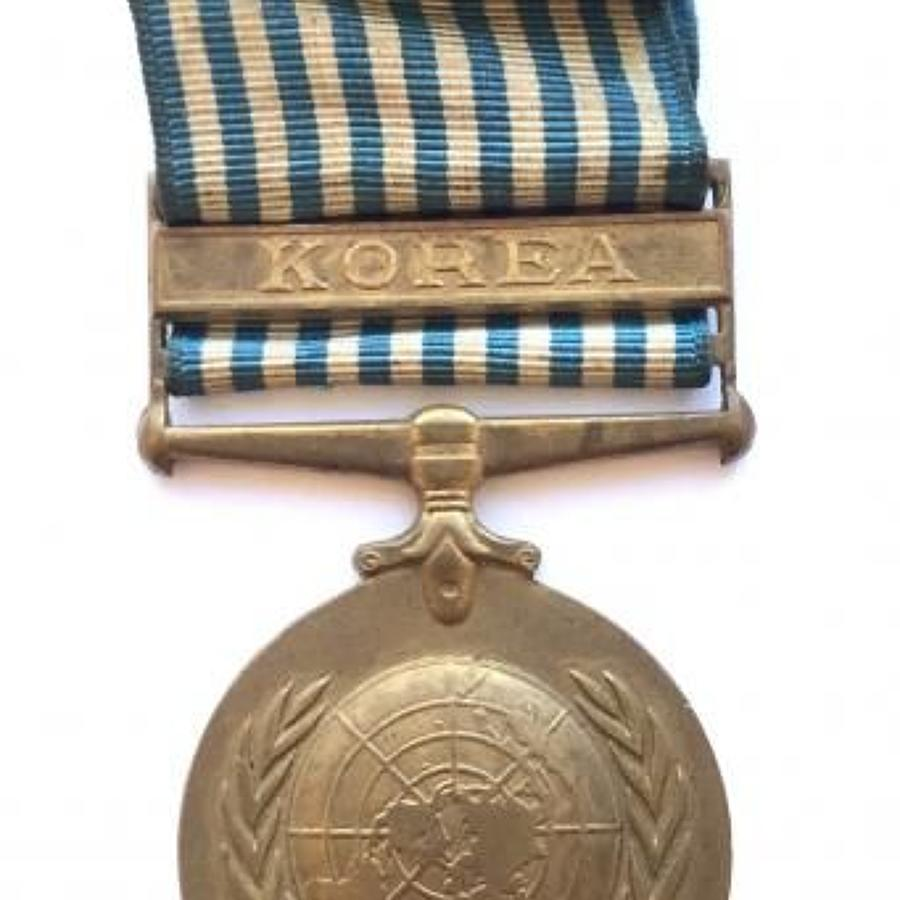 UN Korea Medal. British Issue.