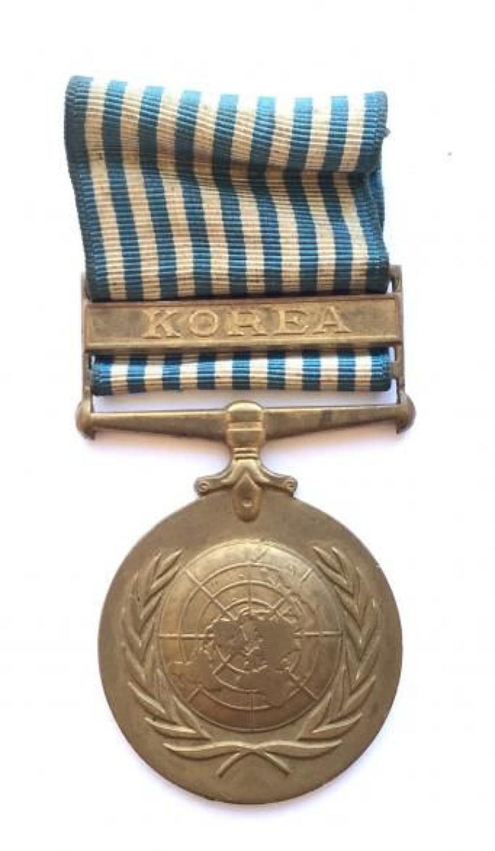 UN Korea Medal. British Issue.