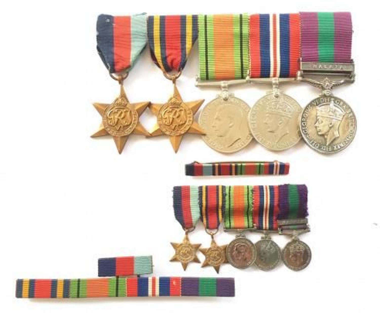 RAF WW2 / Malaya Emergency Officers Group of Medals.