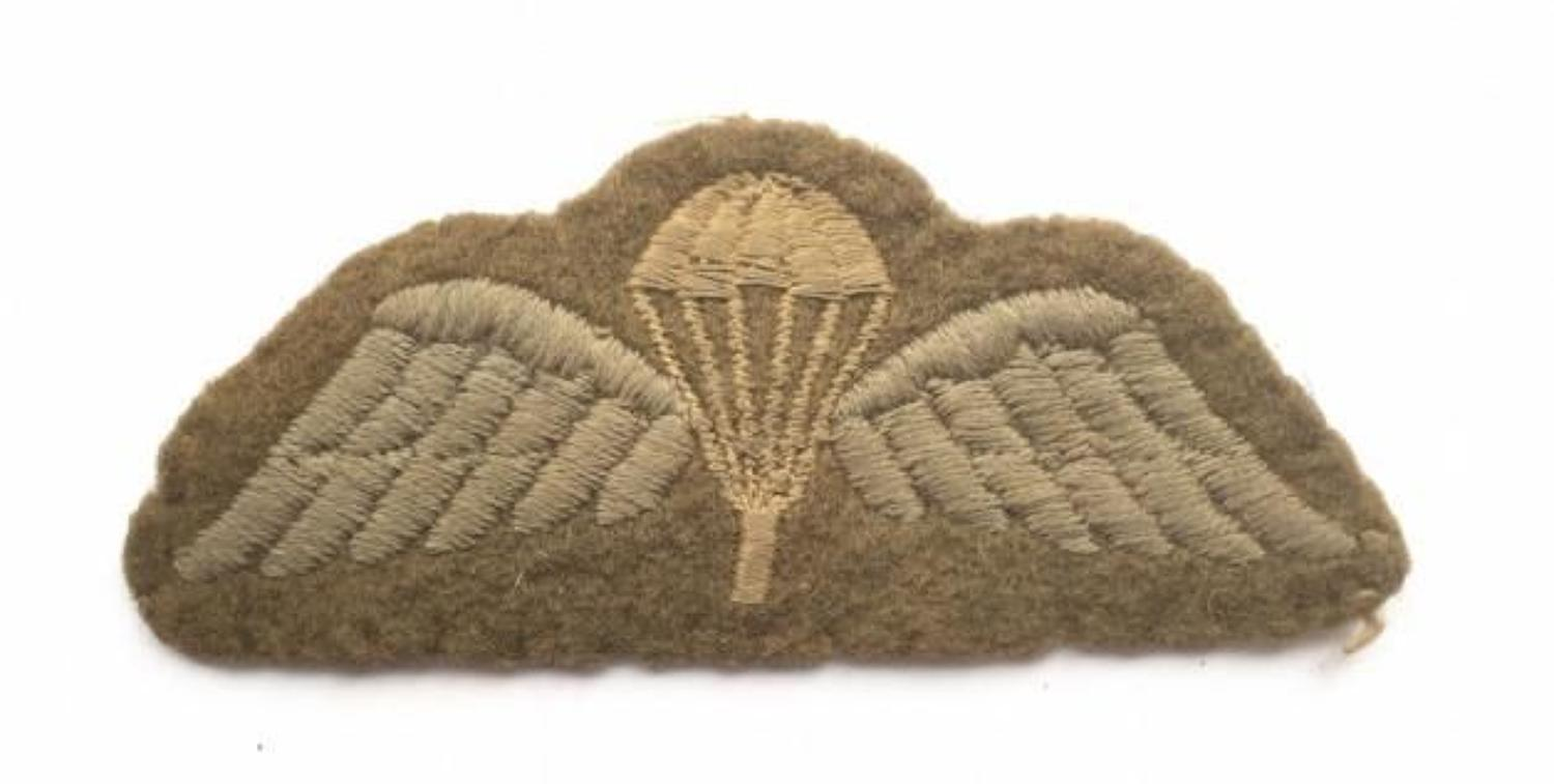 WW2 Parachute Qualification Wings